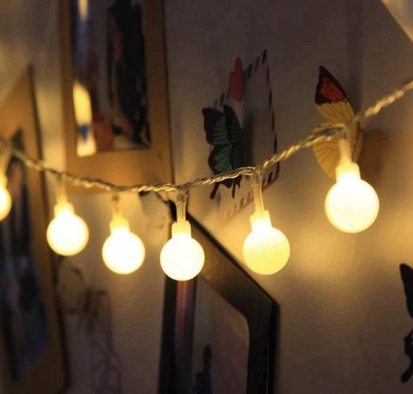 String Lights for Bedroom
