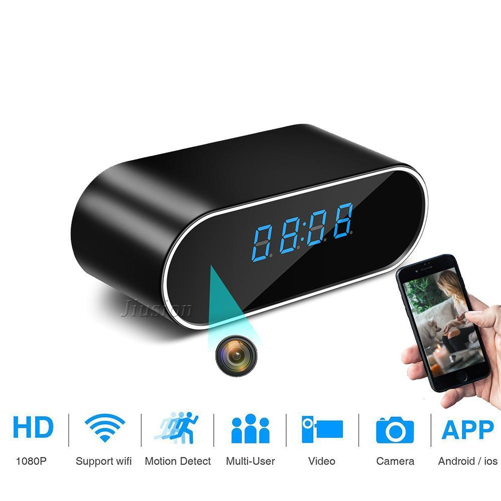 Spy Camera Alarm Clock with WiFi 1080P Video Recorder