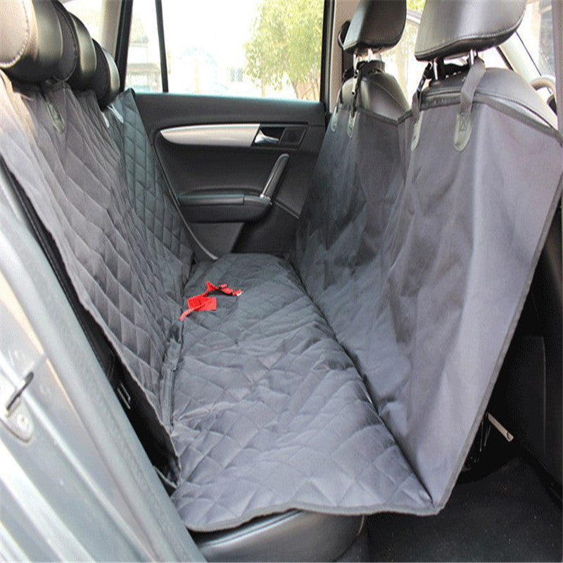 Waterproof Dog Pet Car Seat Covers Back Bench Mat Travel Accessories