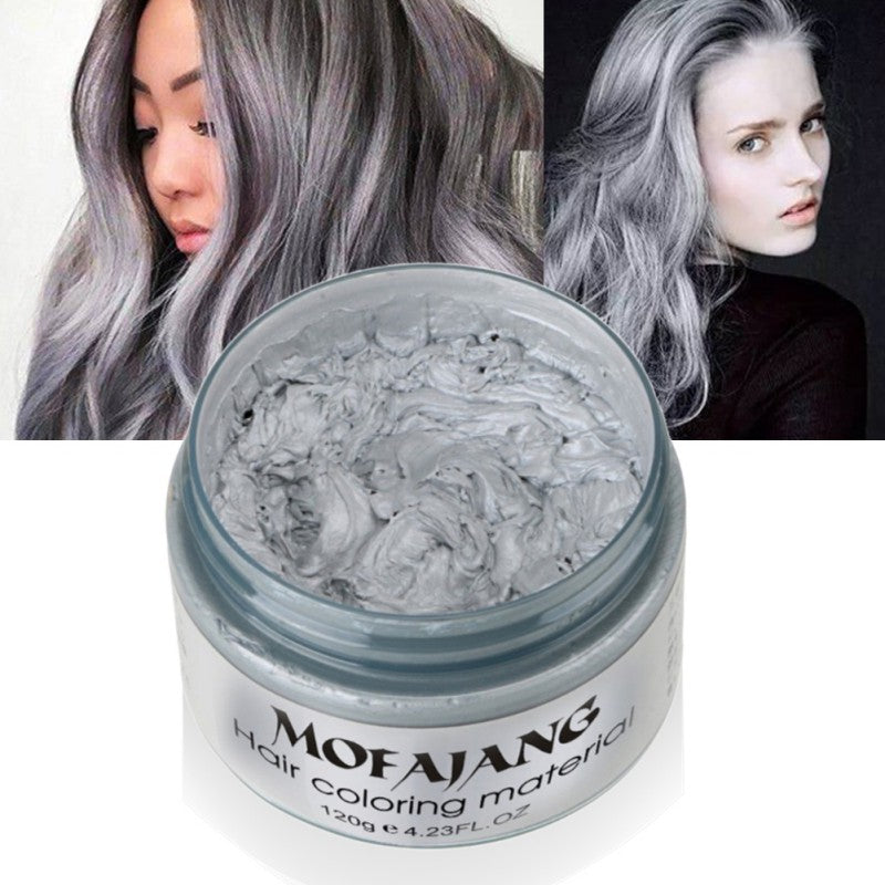 Unisex Multi-Color Hair Color Wax