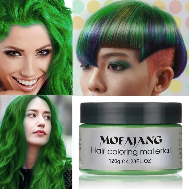 Unisex Hair Color Wax - Multi-pack 7 Colors