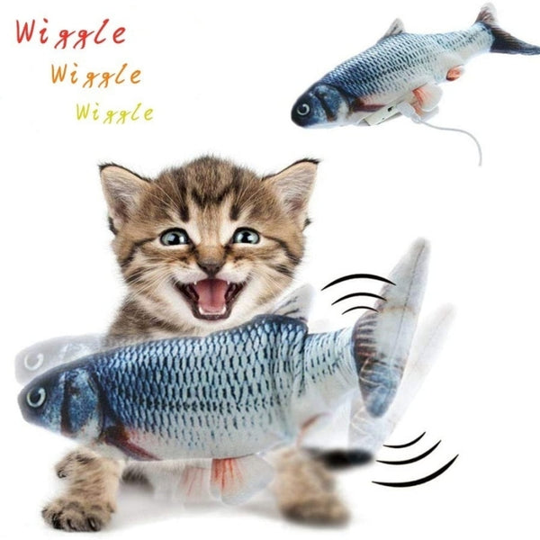 Meowi™ Flopping Fish Cat Toy