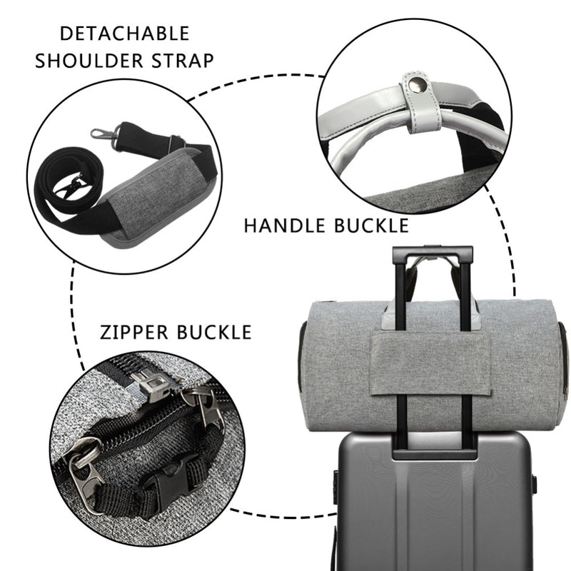 Wrinkle-free Travel Garment Bag