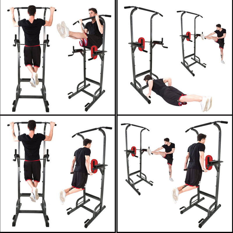 VersiGym™ Home Gym Pull Up Bar Dip Bar Workout Station Fitness Equipment
