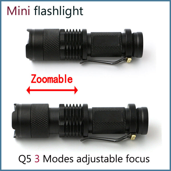 2000 Lumen Cree LED Tactical Flashlight