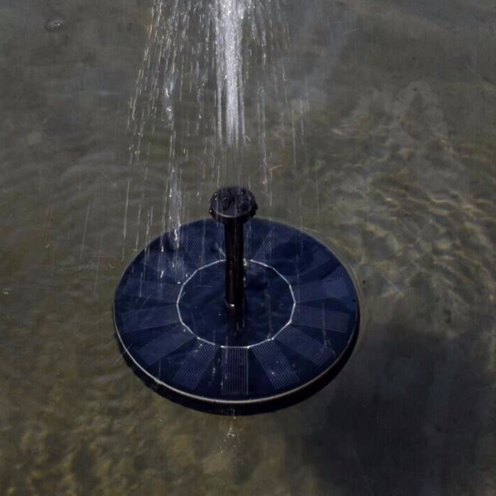 Solar Bird Bath Water Fountain