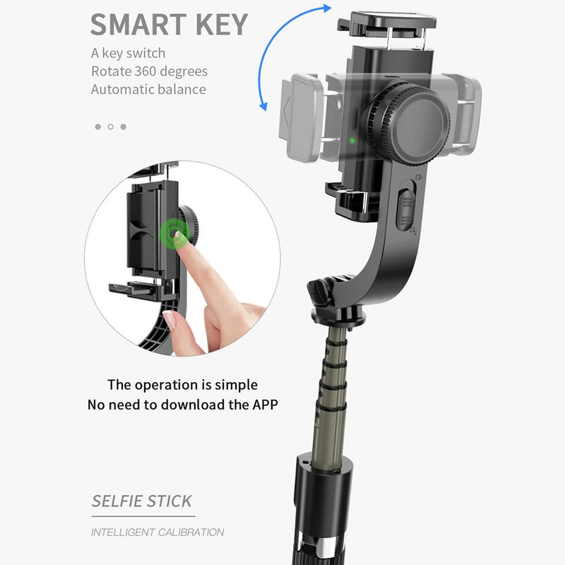 Smart Bluetooth Handheld Smooth Gimbal