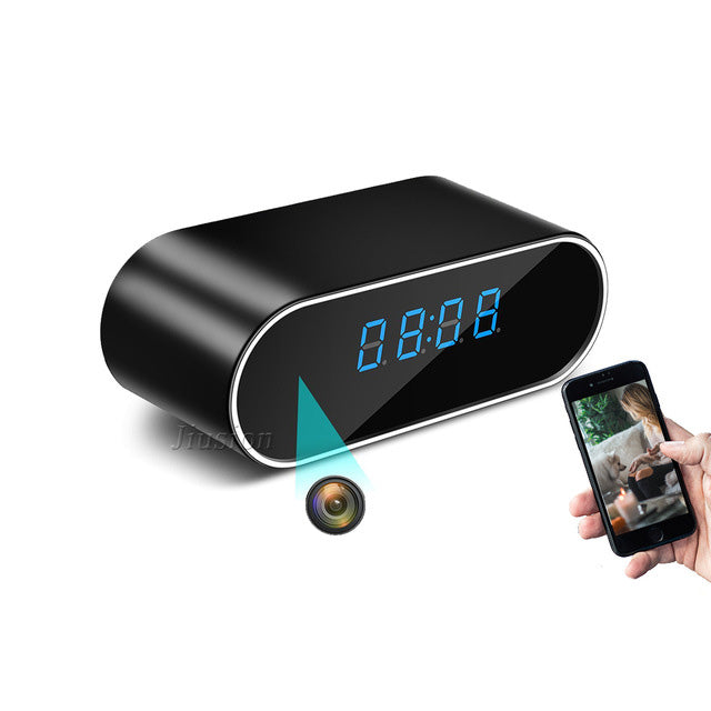 alarm clock security camera