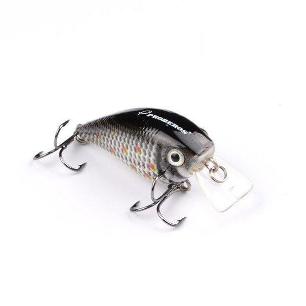 6 pc Bass Fishing  Crankbait  Lure Set  2.2 in  1/4 oz  Crankbait