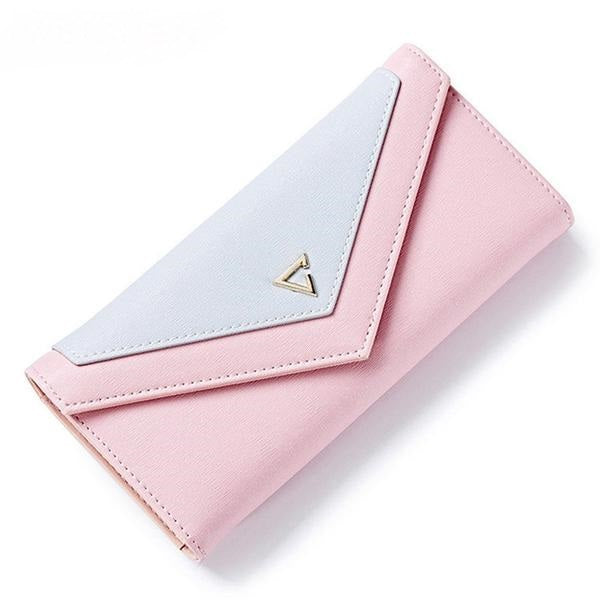 Geometric Wallet Women Wallet