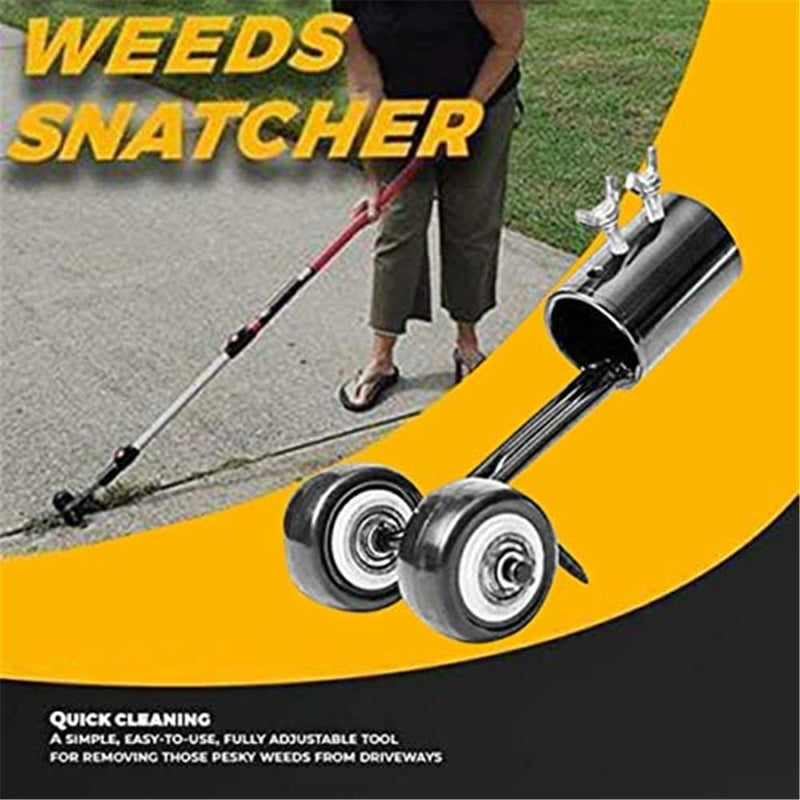 Weeds Snatcher With Wheel