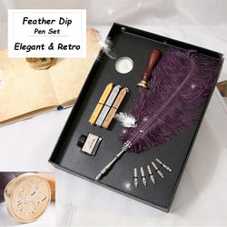 Calligraphy Retro Quill Pen Gift Set