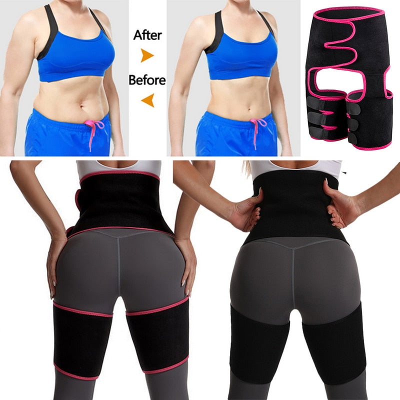 3-in-1 Waist and Thigh Trimmer Butt Lifter