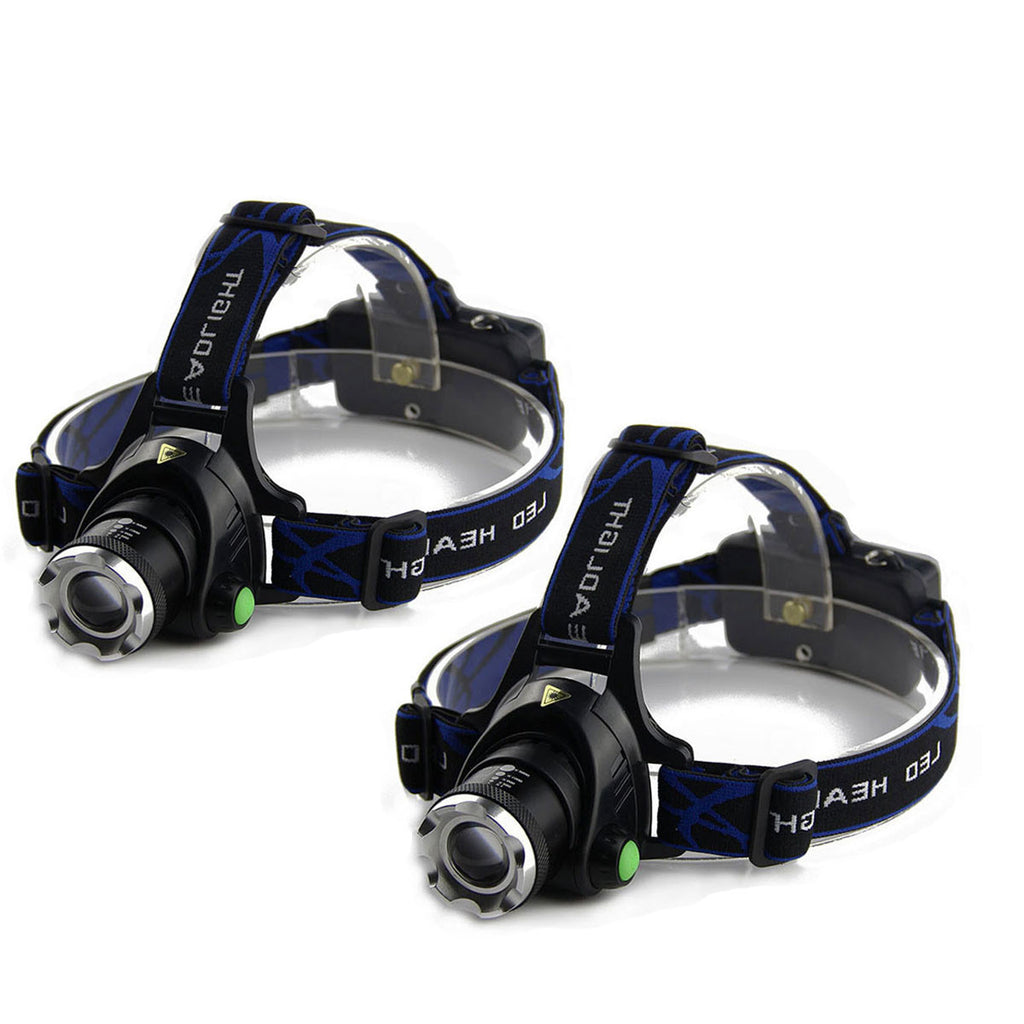 Ultra-bright CREE  XML T6 3000 Lumen 3 Mode Tactical Headlight  Head Lamp - Get 2 for Only $19.95