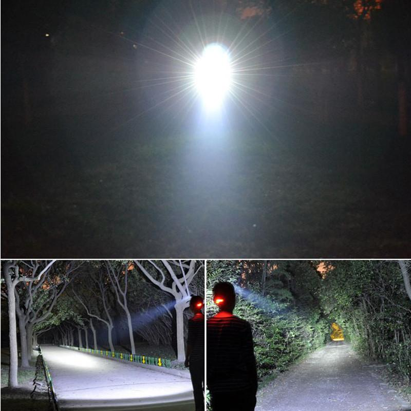 Headlamp Waterproof Flashlight