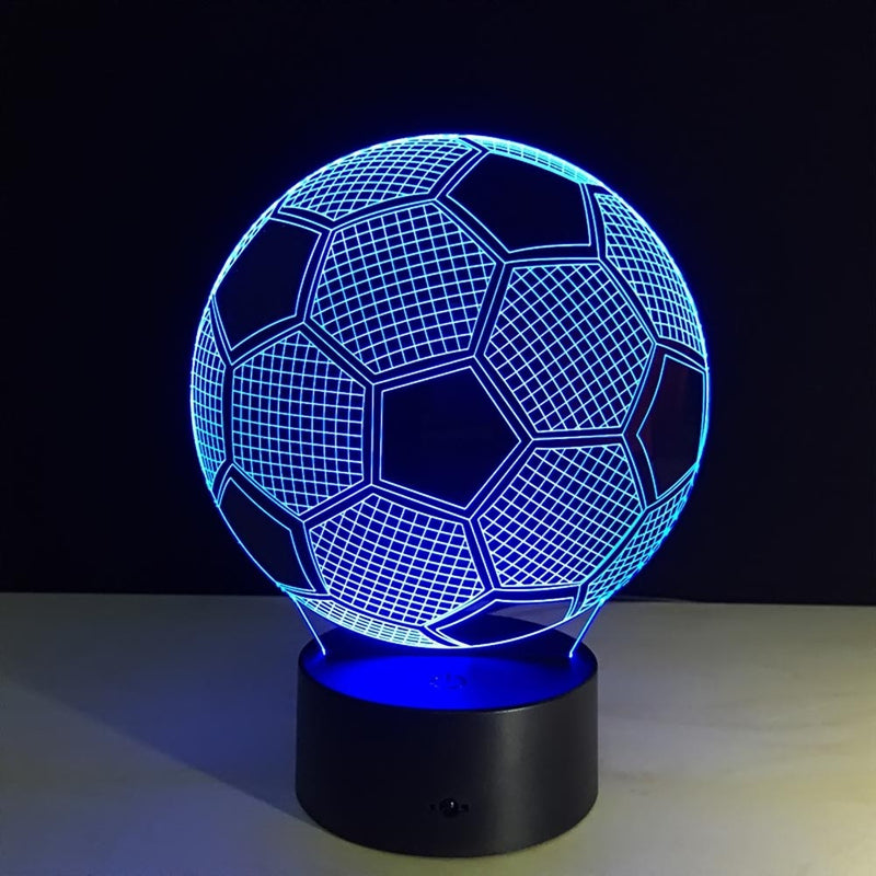 Soccer Ball  Football  3D LED Night Light