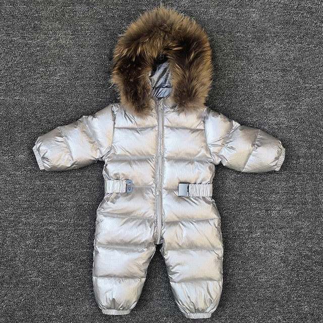 Baby Girl Snowsuit