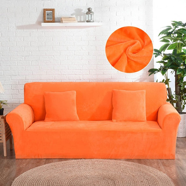 SofaSlipz™ Thick Plush Sofa Slipcover