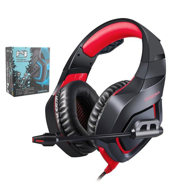 Wired Gaming Headset PC Stereo Headphones with Microphone