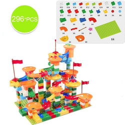 Marble Race Run Building Blocks