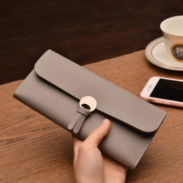 Women PU Leather Wallets