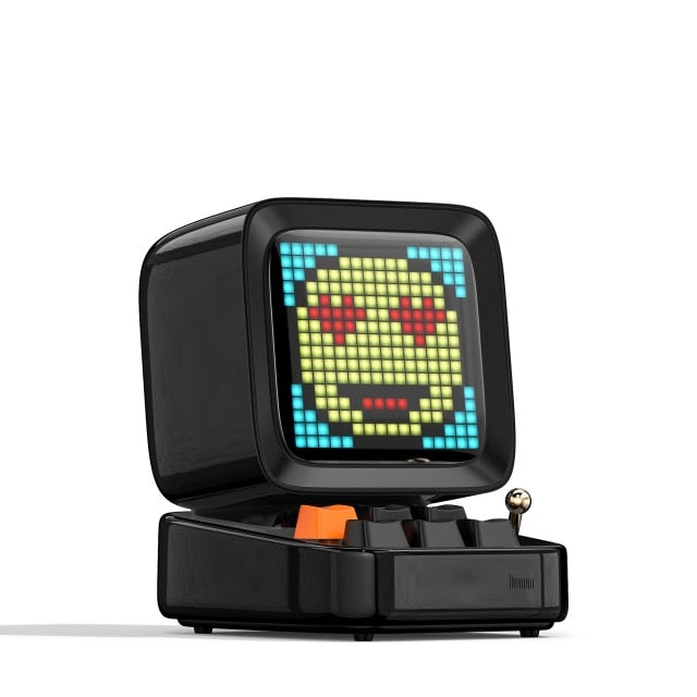 Retro Pixel Art Speaker and Alarm Clock