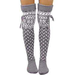 Knitted Over Knee Socks