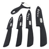 Image of Ceramic Knives Knife  Set w Sheaths 5 Pieces 3 Inch 4 Inch 5 Inch 6 Inch Zirconia Ceramic Knife and Peeler