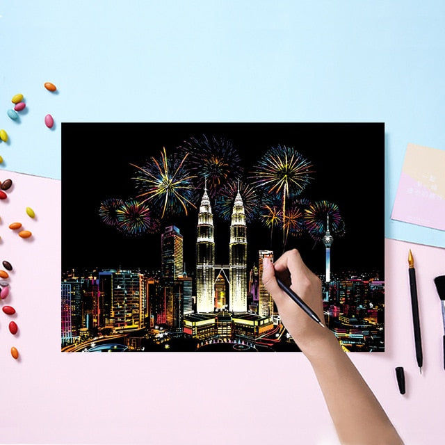 Magic Scratch Painting Kits