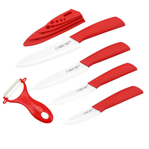 Ceramic Knife Set with Sheaths