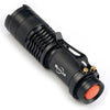 Image of Mini Tactical Flashlight CREE 2000 lumens  3 mode  Zoomable Tac Light Torch- Get 6 for only $24.95