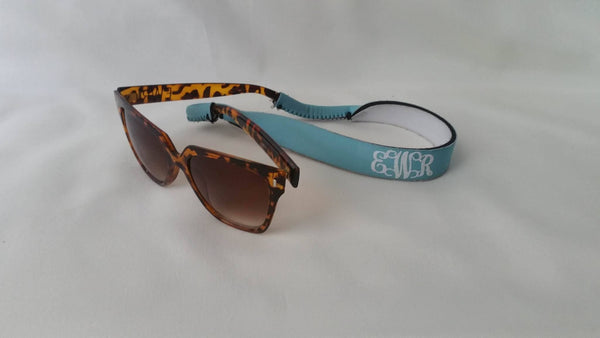 Monogrammed Sunglasses and Sunglass Strap