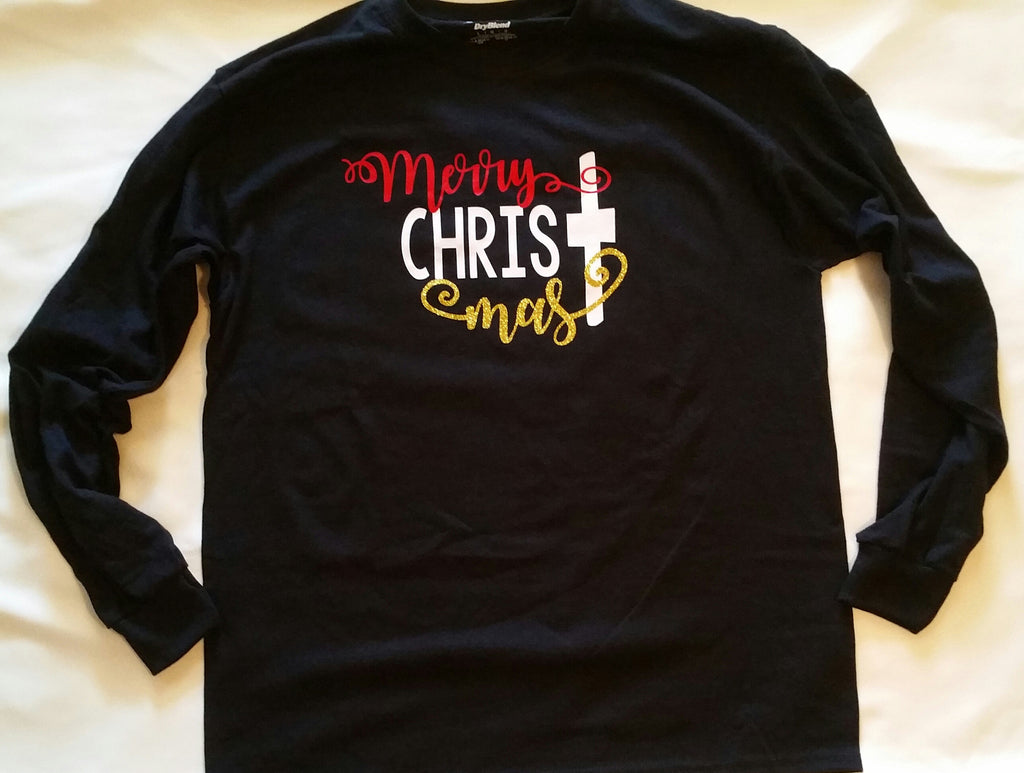 Toddler Merry CHRISTmas T-Shirt - Christmas Shirt