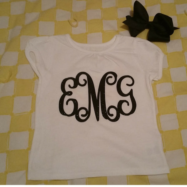 Toddler Monogrammed T-Shirt