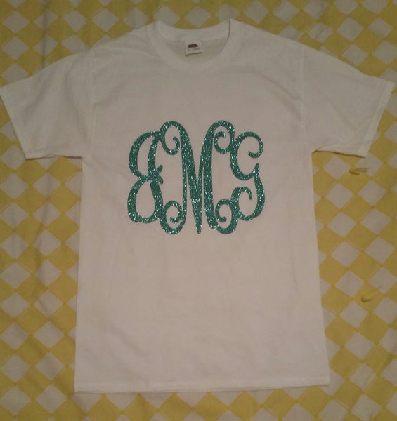 Large Monogram Short Sleeve Shirt