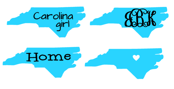 Carolina Girl Decal