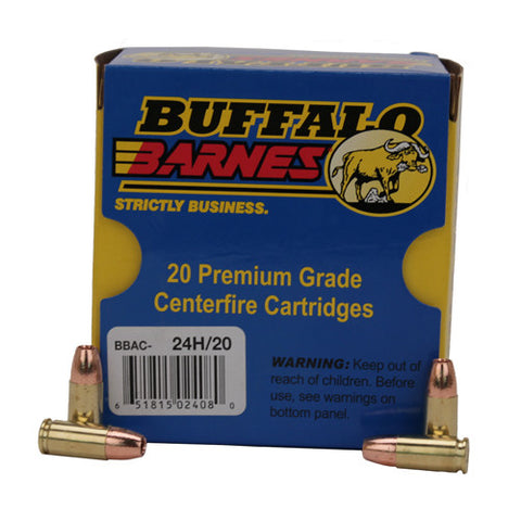 9mm+P+ 115gr Barnes TAC-XP /20