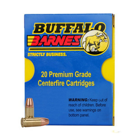 38Super+P 115gr Barnes TAC-XP /20