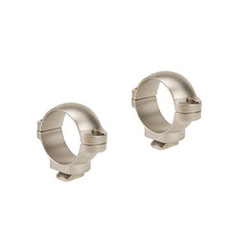 Dual Dovertail Rings, Low Silver