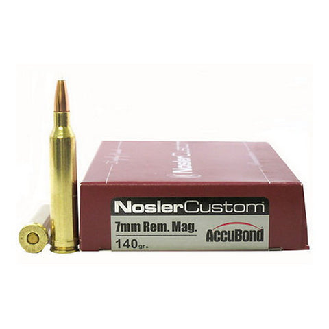 7mm Rem Mag 140gr AccuBd (Per 20)