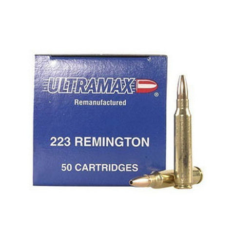 223 Rem. 52Gr. JHP-Remanufactured