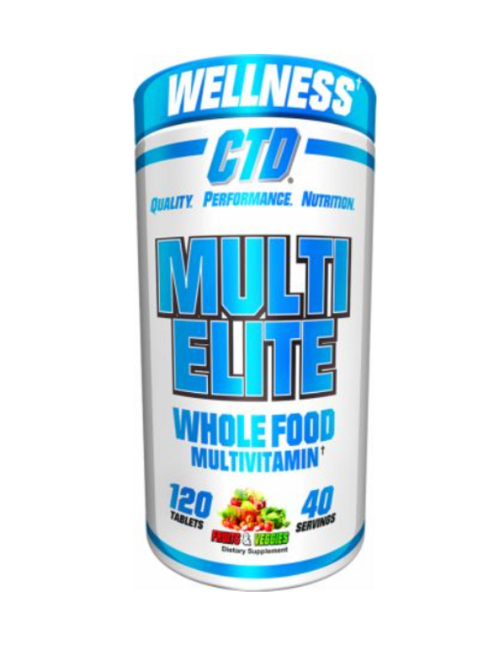 CTD SPORTS Multi Elite Whole food multivitamin