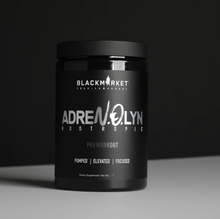 Load image into Gallery viewer, Blackmarket Labs AdreNOlyn Nootropic 30 Serving Pre-Workout
