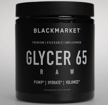 Load image into Gallery viewer, Blackmarket Labs Raw Glycer65