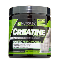 Load image into Gallery viewer, NutraKey Creatine Monohydrate 300g Powder