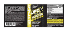 Load image into Gallery viewer, NUTREX RESEARCH LIPO-6 BLACK INTENSE ULTRA CONCENTRATE FAT BURNER, 60 COUNT