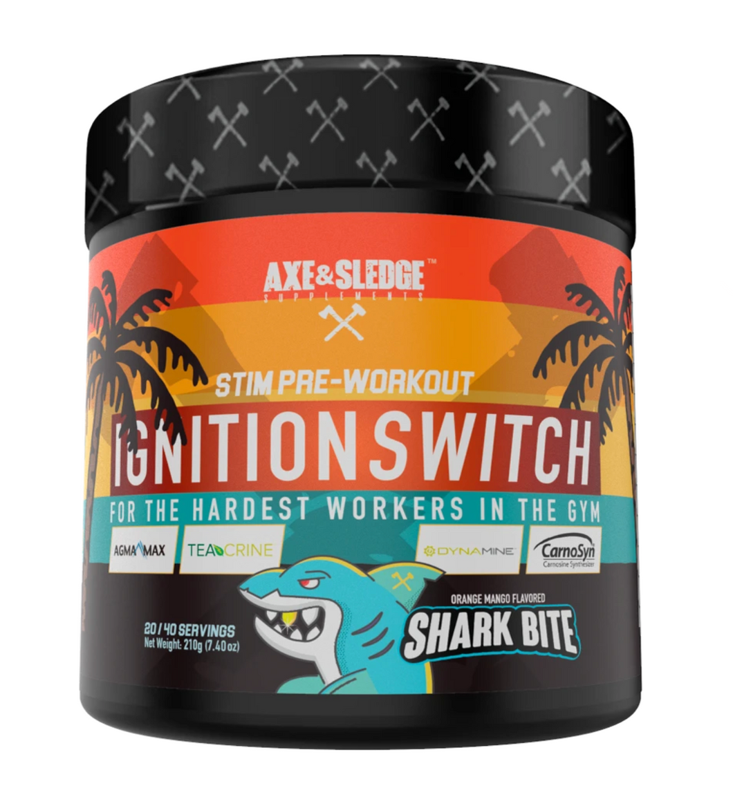 Axe and Sledge Ignition Switch Shark Bite