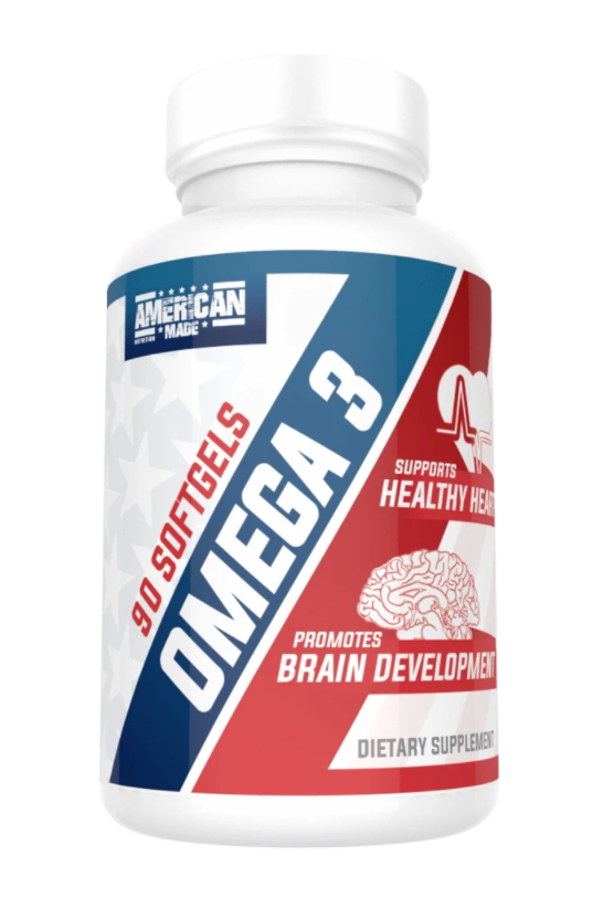 American Made Nutrition Omega 3: Fish Oil