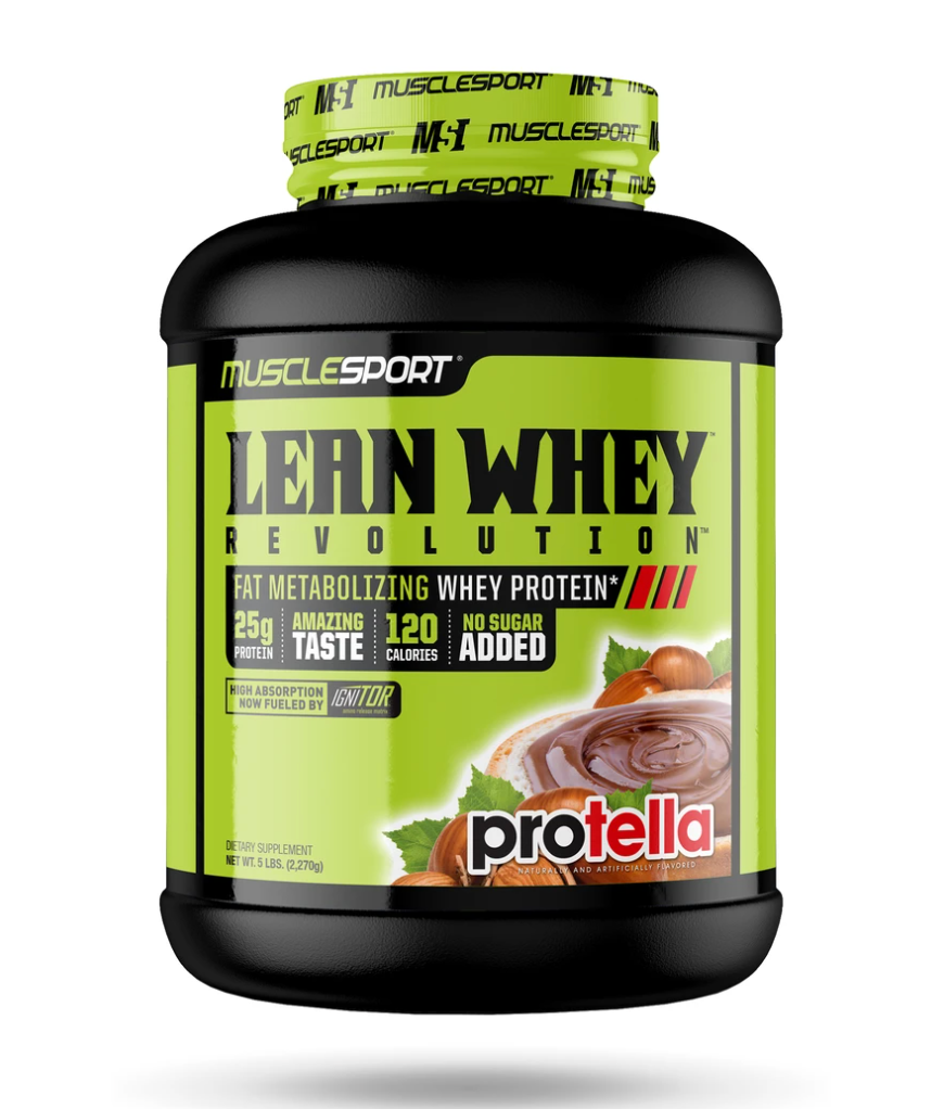 Muscle Sport Lean Whey Revolution™ - 5lb (In store exclusive, call for pricing)