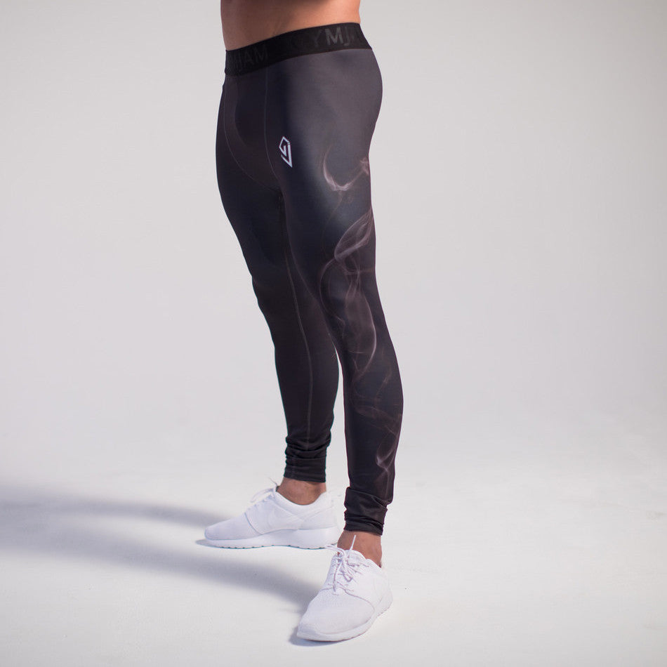 GymJam Smoke Compression Pants